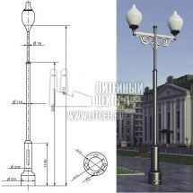 Прототип фонаря