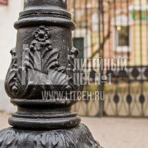 Художественное литье столбов