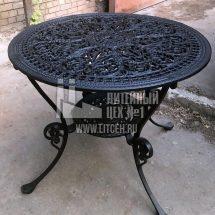 каслинское литье чугунного стола