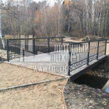 изготовление ограждения мостика