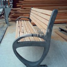 изготовление чугунных скамеек