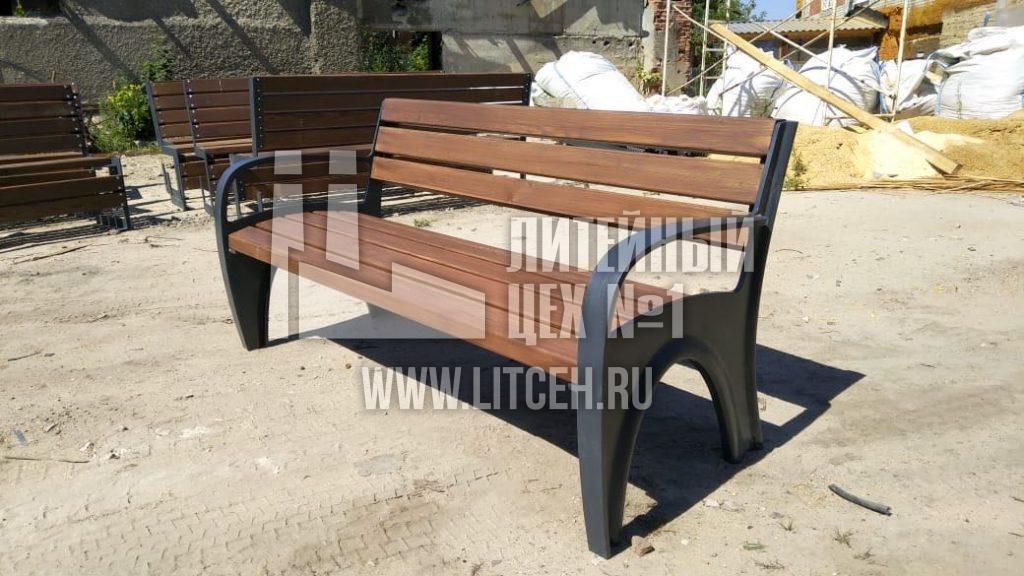 изготовление скамеек и лавок на заказ литые чугунные