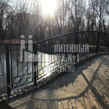 ограждение моста стальное